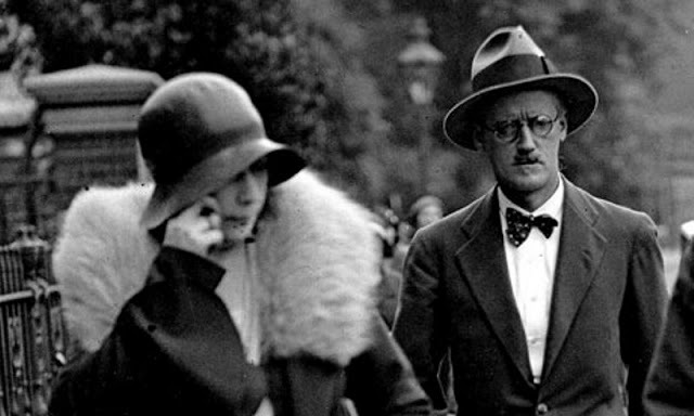 James y Nora Joyce