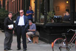 Greenwich Village. Con Eduardo Lago. Sept. 2008
